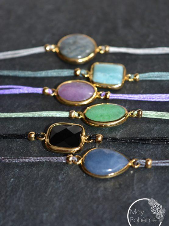 bracelet kes gyspet spirit bracelet pierre semi pr cieuse may boh me. Black Bedroom Furniture Sets. Home Design Ideas